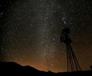 Winter Milky Way in SW New Mexico