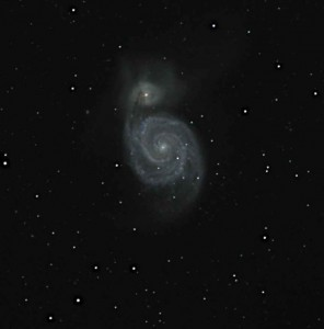 Whirlpool Galaxy before June 2 Supernova