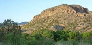 Turtle Rock from Casitas de Gila Guesthouses