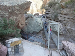 Suspension Bridge at Catwalk