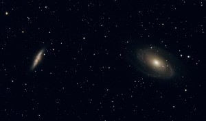 M81 and M82 deep sky objects