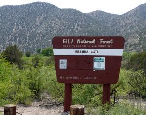 Burro Mtn. Trailhead Sign
