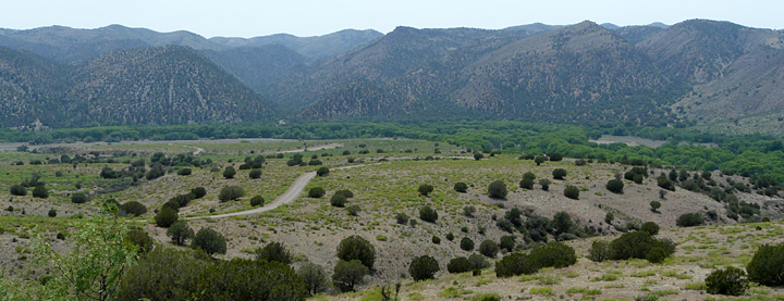 New Mexico's Burro Mountains in the Gila National Forest