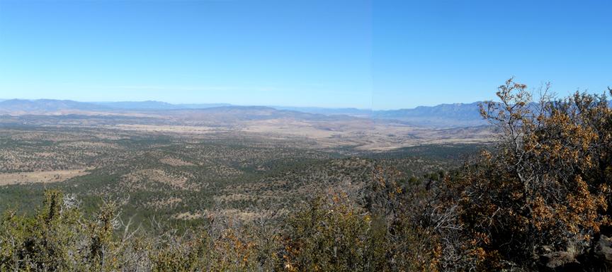 Pine Cienega Creek Valley