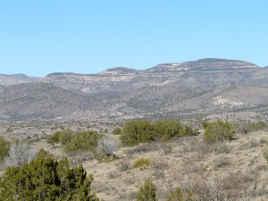 Pinos Altos Range in the Gila Wilderness