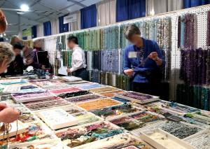 semi-precious gemstones and beads