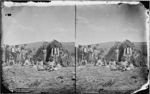 apaches near wikiups