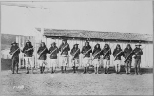 apache scouts in New Mexico