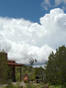 Casitas de Gila thunderstorm