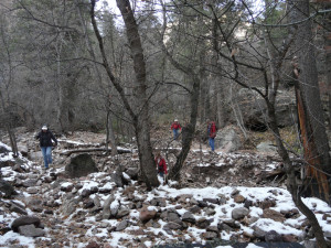 crossing Little Dry Creek