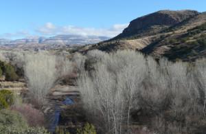 Gila Wilderness mountains