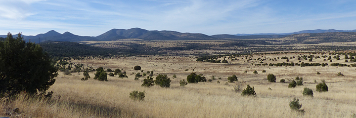 off road in Southwest New Mexico