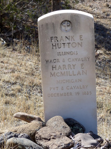 Boot Hill Cemetery graves