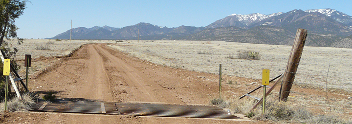 Sacaton Road Grant County NM