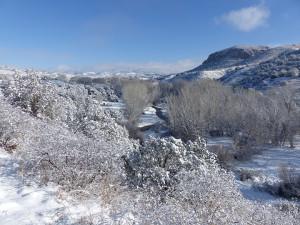 snow in silver city new mexcio