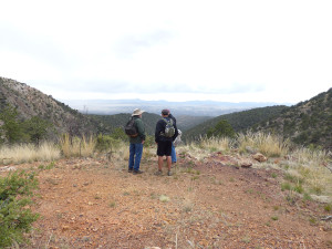 hiking the Gila National Forest