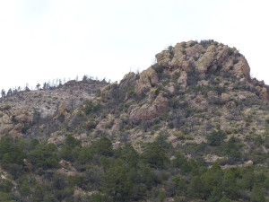 Fanney Rhyolite in Gila Wilderness