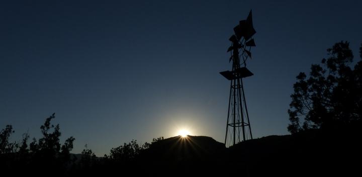 sunrise on summer solstice