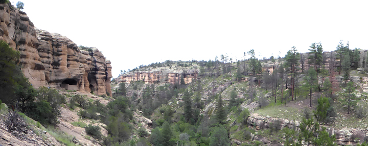Cliff Dweller Canyon New Mexico