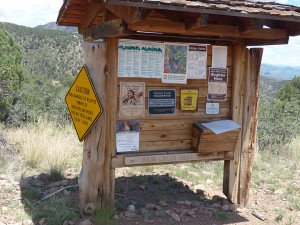 Rain Creek Trail Kiosk