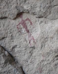 Gila Cliff Dwellings pictograph
