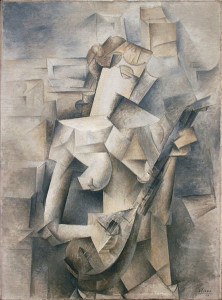 """Girl with a Mandolin"" Pablo Picasso"