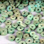 Chaco turquoise beads