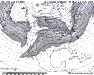 jet stream map