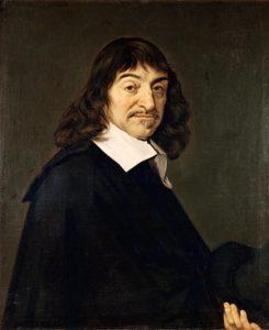 portrait of Rene Decartes