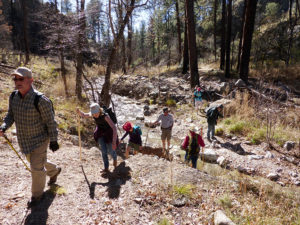 Sacaton Creek hike, New Mexico