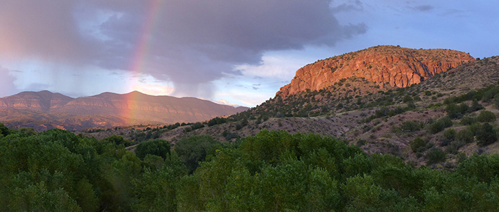 view of Gila Wilderness